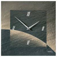 アームス ◆AMS 9519◆スレート(粘板岩) 壁掛け時計(エアブラシデザイン)◆ドイツ製クォーツムーブメント