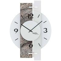 アームス ◆AMS 9558◆ストレート版、デザイン掛け時計◆ドイツ製クォーツムーブメント