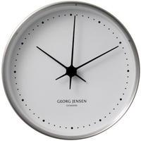 ジョージ・ジェンセン◆Georg Jensen◆HK 掛け時計 (ステンレス,10㎝)◆ヘニングコッペル、北欧