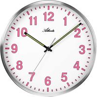 アトランタ◆Atlanta 4453/17◆シンプル壁掛け時計◆ピンク◆アトランタバイパラゴン