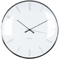 カールソン◆KARLSSON  KA5623WH◆ドーム型 掛け時計(白)◆Dragonfly Wall Clock
