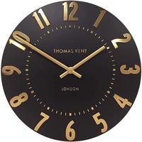 トーマスケント◆THOMAS KENT  AMC12031◆掛け時計◆アラビア時計オニキス◆直径30㎝