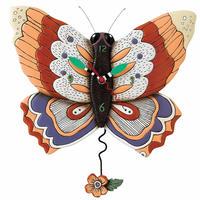 アレン デザイン スタジオ ◆P1604◆蝶の掛け時計◆ALLEN DESIGN  STUDIO