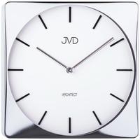 JVD◆JVD HC10.1◆モダンデザインクロック壁掛け時計◆ホワイト◆チェコ共和国、東欧時計