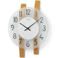 アームス ◆AMS 9203◆2本の湾曲した背板の掛け時計◆ドイツ製クォーツムーブメント