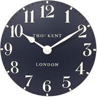 トーマスケント◆THOMAS KENT  AMC12029◆掛け時計◆アラビア時計ブルー◆直径30㎝