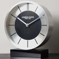 ロンドンクロック◆LONDON CLOCK 3131◆ミニマムデザイン置き時計◆London Clock Company
