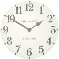 トーマスケント◆THOMAS KENT CAA3WTO20011◆掛け時計◆マルベリークロック/アラビア時計石灰岩[D]◆直径50㎝