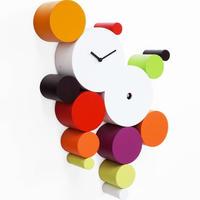 CUCUBALL◆PROG2315WRM◆丸いオブジェのカッコウ時計 (暖かい色)◆ Manuel Barbieri