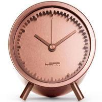 レフ・アムステルダム◆LEFF Amsterdam Tube◆チューブクロック置き時計(銅メッキ)◆ピート・ハイン・イーク