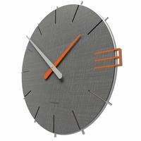 CALLEADESIGN◆Quartz Grey◆WANDUHR MIKE マイク掛け時計 (ウッドグレー)◆トリエステ