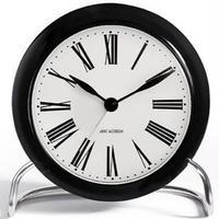 ローゼンダール◆アルネ・ヤコブセン◆  テ―ブルクロック・置き時計  (黒×白)◆Arne Jacobsen