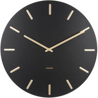 カールソン◆KARLSSON KA5716BK◆チャームウォールクロック(ブラック)◆45cm◆Charm Wall Clock