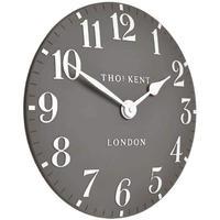 トーマスケント◆THOMAS KENT 198◆掛け時計◆アラビア時計ドルフィングレー◆直径30㎝