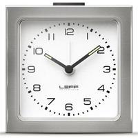 レフ・アムステルダム◆LEFF Amsterdam Scope12◆ブロック目覚まし時計(SSホワイト)◆Block Clock White Arabic
