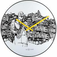 """NEXTIME◆NEXT 8192◆""""Sax City""""サックスシティ掛け時計◆ティムスーンホーフェン"""