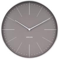 カールソン◆KARLSSON  KA5681GY◆ノーマン壁掛け時計(グレー)◆Normann Wall Clock