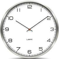 レフ・アムステルダム◆LEFF Amsterdam Numbers55◆インスタントクラシック 掛け時計(シルバー)◆ウィーベ・テルストラ