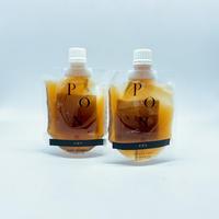ギフト用【自分で選べる】北海道産昆布と柑橘の『白醤油ぽん酢』2本セット