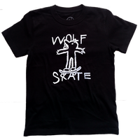 Kids Y's graffiti Logo Tシャツ