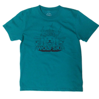 Kids Lightning Wolf  Tシャツ