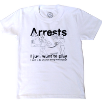 Kids Arrests Tシャツ