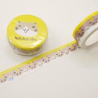 ねこぶちマスキングテープ(猫渕)51852009