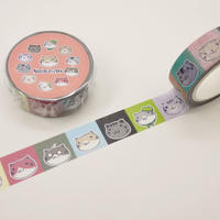 ねこぶちマスキングテープ(ブロック)51852012