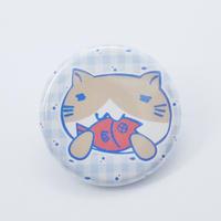 ねこぶち缶バッチ(小)猫渕 51853009