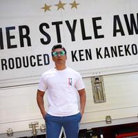 SUMMER STYLE AWARD  Tシャツ 【MENS】(ORANGE×BLUE)