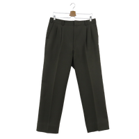 2 tuck slacks(gray)