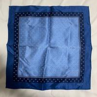 【LANVIN paris】handkerchief〜from D〜