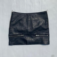【BLACK Noon】Leather skirt〜from D〜