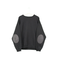 ELBOW PATCH sweat(black)