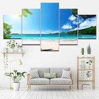 【小】キャンバスアート アートパネル 絵 絵画 パネルアート インテリア 壁掛け 海の絵 ビーチ ハワイ モルディブ 海 空