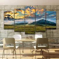 特大キャンバスアート 絵画 パネルアート インテリア 壁掛け 大自然 山 草原