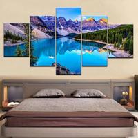 【特大】キャンバスアート 絵画 パネルアート インテリア 壁掛け 大自然 湖 山 木