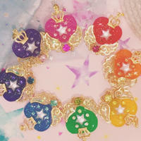 Stellar heart pendant