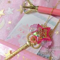 MiracleMagicalStarKey Pink magic