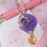 Moon Dripping heart  黄金(コガネ)の雫