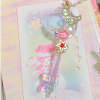 ☆まじかる☆ムーン キースティック☆ ネックレス☆