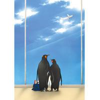 POSTCARD  「空を飛べたら…〜遠距離恋愛の2人」