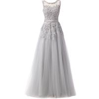 ヴィンテージ ドレス ロングドレス グレー ノースリーブ