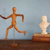 品番 z-0596 デッサン人形