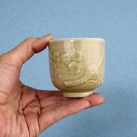 品番 t-0253 湯呑「聖戦萬里」