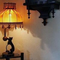 猫の電気スタンド