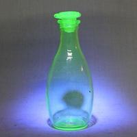 品番 g-0762 ウランガラス醤油瓶