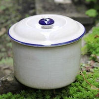 陶器 蓋物
