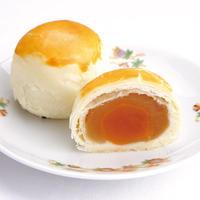 【期間限定】285.蓮蓉蛋黄酥(塩たまご入り、ハスあんパイ)【常温】