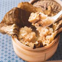 糯米鶏(五目ご飯 蓮の葉包み蒸し) 1入 [冷凍品]